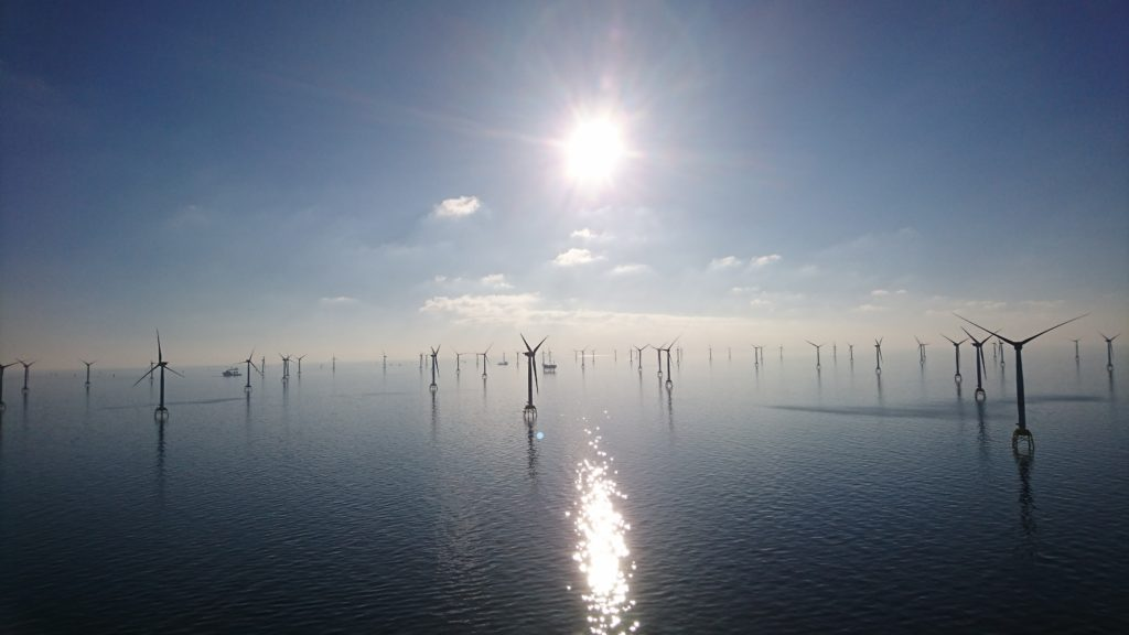 2013 - Erste Offshore-Wind Aufträge